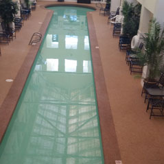Indoor Pool Atrium Building gallery