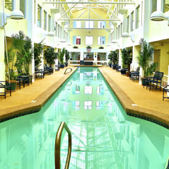 Atrium Building pool gallery